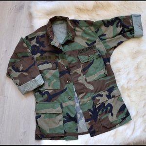 Vintage Camo Military Jacket 🧥🪐